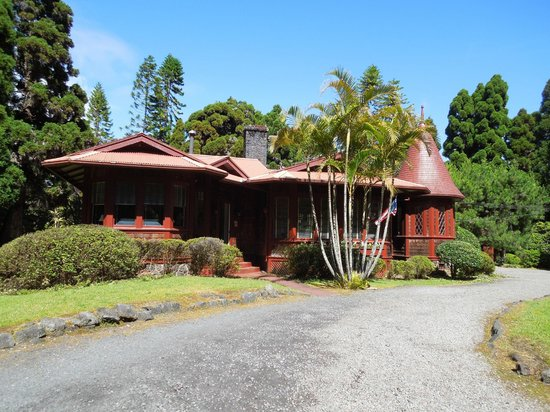 Hale Ohia Cottages: main building