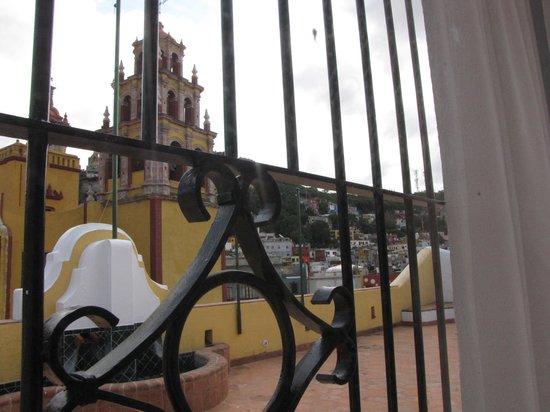 Hotel Casa Virreyes: Terraza