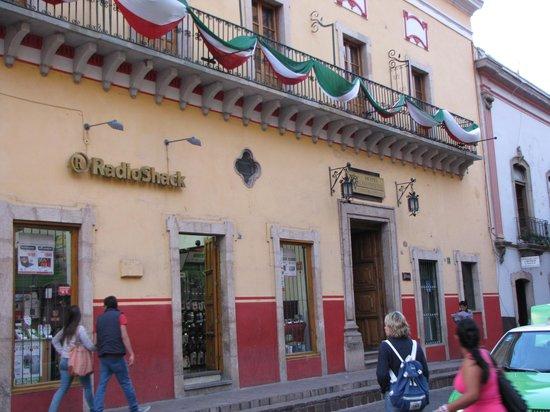 Hotel Casa Virreyes: Entrada del hotel