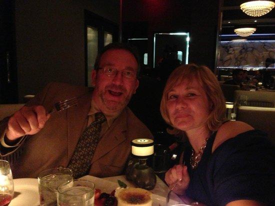 Morton's The Steakhouse - Atlantic City: birthday celebration at mortons