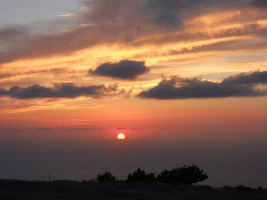 Il Cortile Fiorito srl: tramonto da Erice