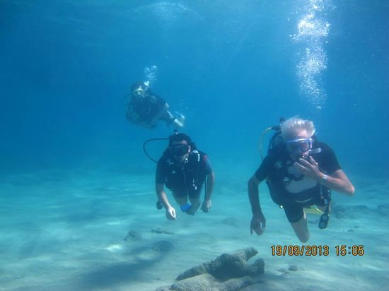 Ethos Dalyan Dive: Great day our with Rob