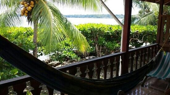 Jenny's Cabinas : Balcon