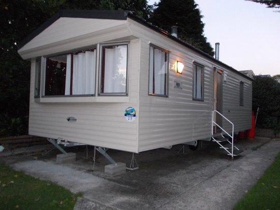 Weymouth Bay Holiday Park - Haven: deluxe caravan