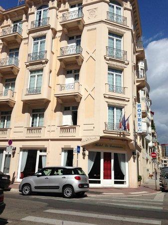 Hotel le Lausanne: Отель