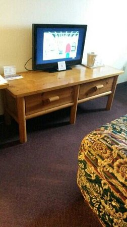 Duluth Spirit Mountain Inn - Americas Best Value: log furniture