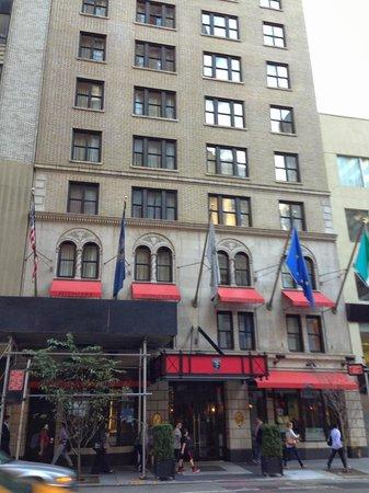Fitzpatrick Manhattan Hotel: Fachada do Hotel.