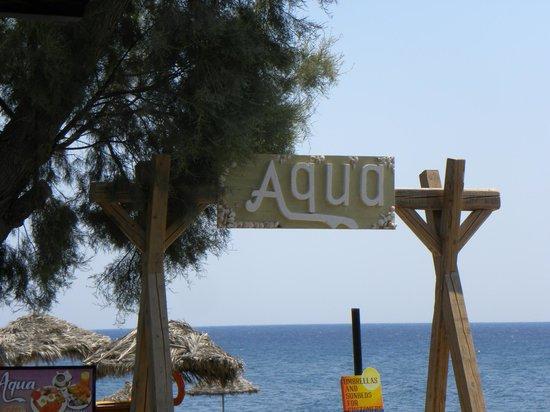 Aqua Beach Restaurant: Aqua