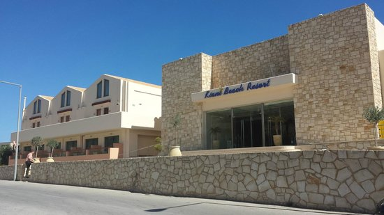 Kiani Beach Resort Family All Inclusive : hôtel de face