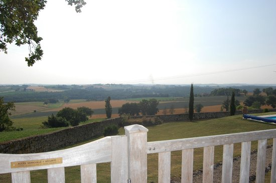 Le Clozet: view from the garden