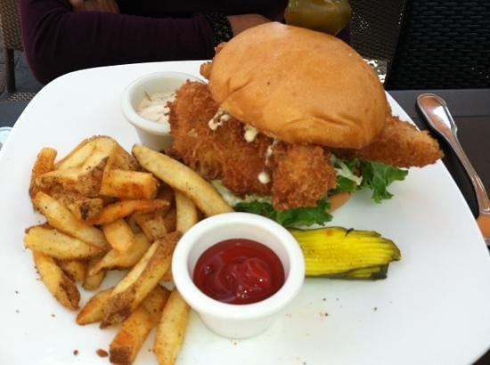McCormick & Schmick's Seafood - Baltimore: Cod Fish Sandwich
