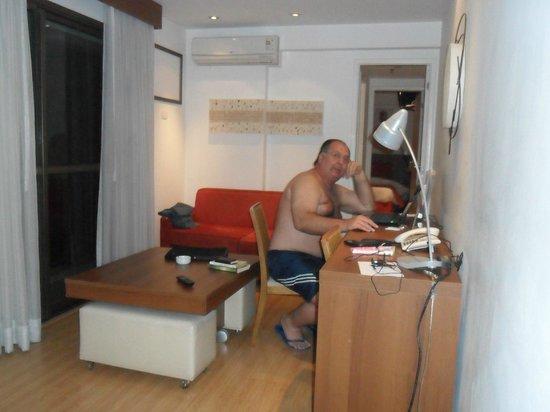 Mercure Rio de Janeiro Arpoador Hotel: Quarto do Hotel Mercure Arpoador