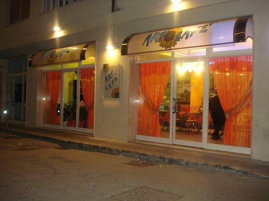Art Cafe' : L'ingresso