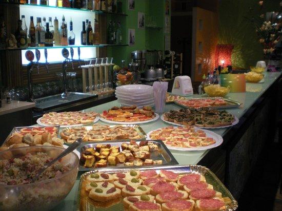 Art Cafe' : Il nostro buffet