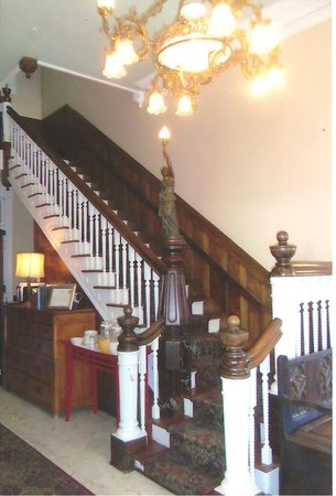 The Southernmost House Hotel: Southernmost house stairway