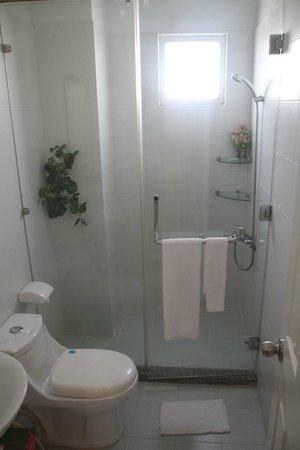 Cat Huy Hotel : baño completo
