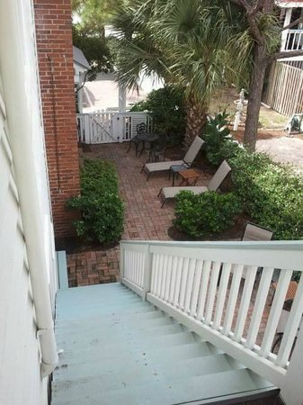 DeSoto Beach Bed & Breakfast: view from above