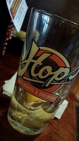 Hops: cool glass
