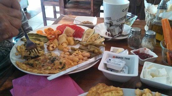 Cafe Hidalgo: Breakfast Plate