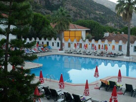 Pool at Karbel Hotel
