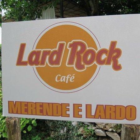 Colonnata, Italien: Lard Rock !!!