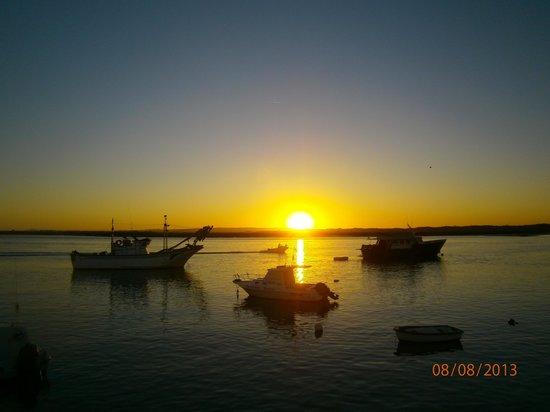 Sol y Mar Hotel: puesta del sol en Isla cristina