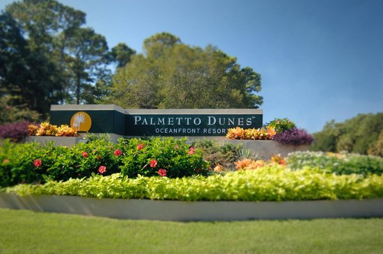 Palmetto Dunes Oceanfront Resort: Entrance to Palmetto Dunes