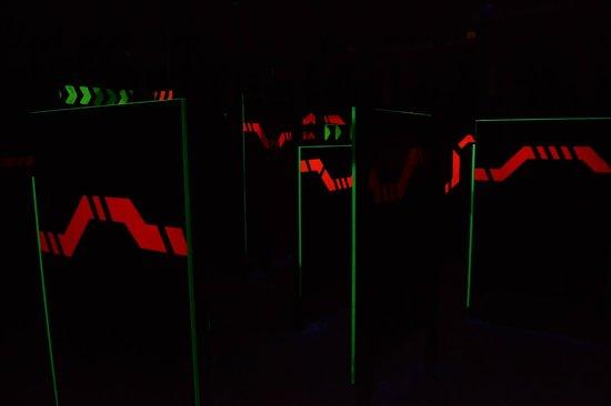 Laser Game Evolution Dunkerque : Labyrinthe