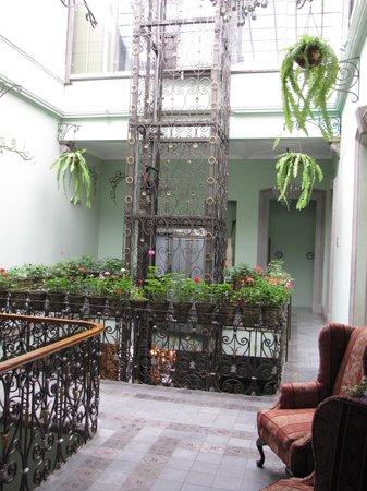 Hotel Puebla de Antano : Hall de entrada