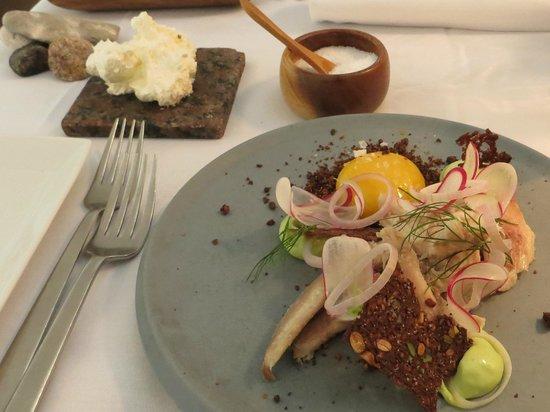 Restaurant Koefoed : smorrebrod con le arringhe affumicate