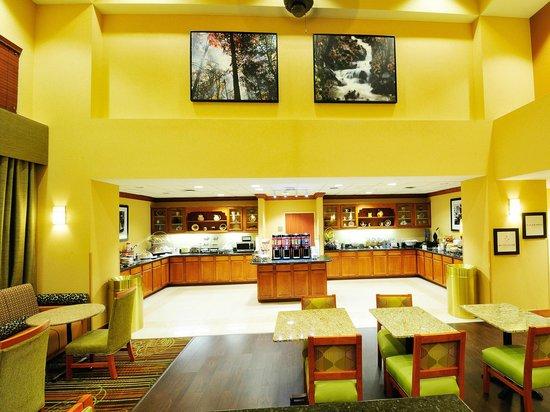 Hampton Inn Fayetteville Ar: Seating area