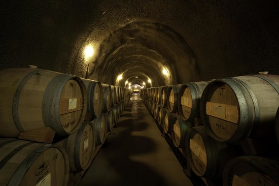 Pine Ridge Winery: The magic happens in our Cabernet caves.