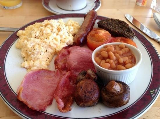 Garfield Guest House: café de manhã
