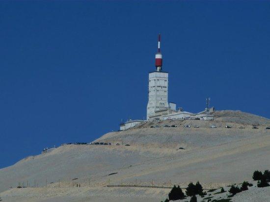 Le Relais du Mont Ventoux : Mont Ventoux fast schon erreicht