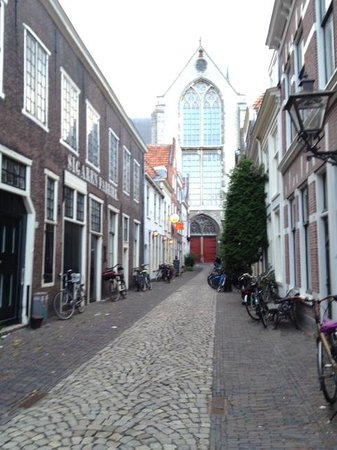 Salomon's Room: View to St. Peterskerk - street level