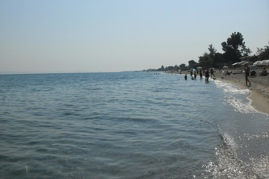 Hanioti Village Resort: Plaża