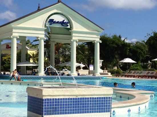 Beaches Turks & Caicos Resort Villages & Spa: French village pool
