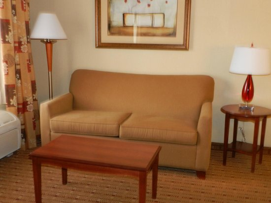 Hampton Inn and Suites Arcata, CA: Sitting area