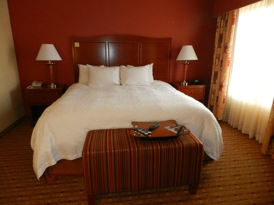 Hampton Inn and Suites Arcata, CA: Very Comfortable King Size Bed