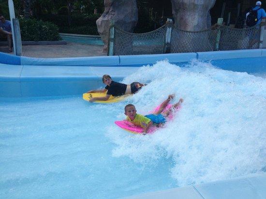 Beaches Turks & Caicos Resort Villages & Spa: wave simulator
