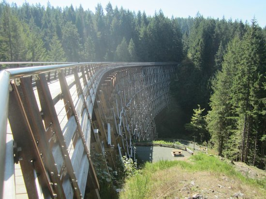 attraction review reviews kinsol trestle vancouver island british columbia