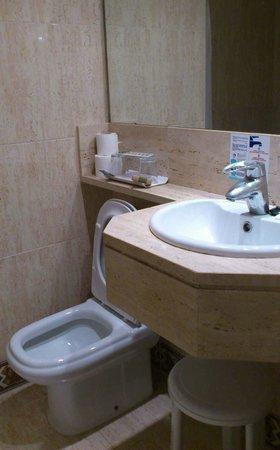 Small bathroom Hotel Hispania Mallorca Arenal