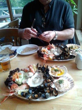 Kishorn Seafood Bar : seafood platter