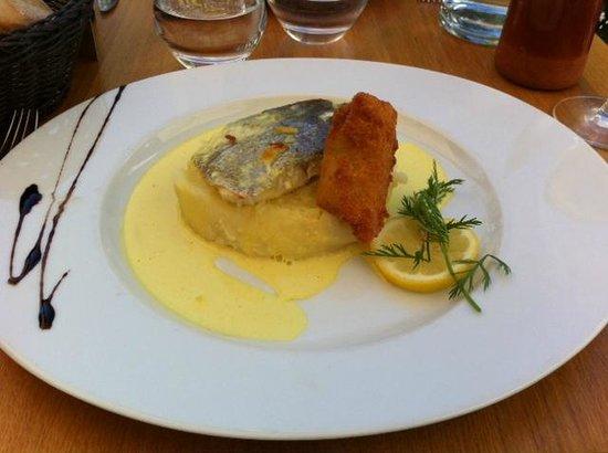 Le Mas Des Oliviers : Plat du jour - poisson