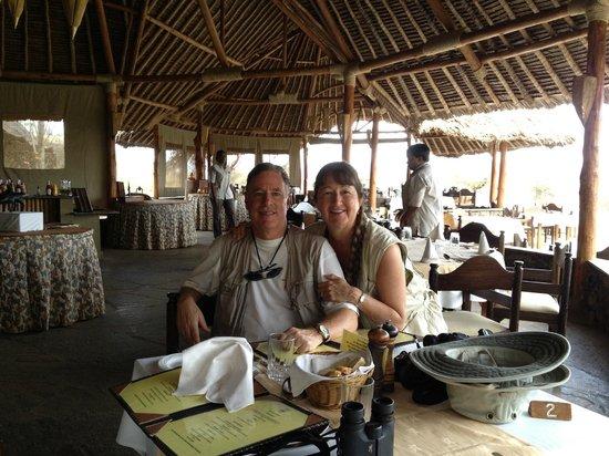 Severin Safari Camp: dining room