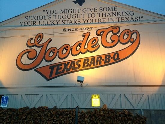 Goode Company Barbeque : Since 1977 - could be 1877