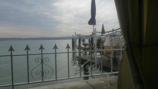 Ristorante Pace: vista del lago dalla veranda