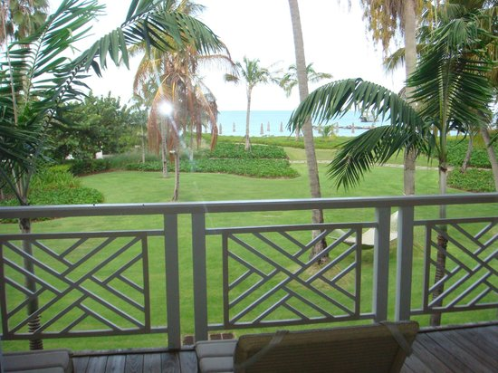 Four Seasons Resort Nevis, West Indies: View from our balcony