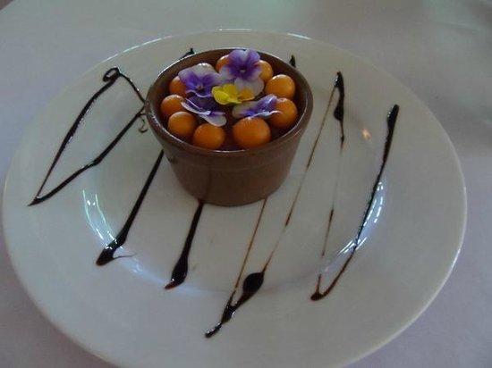 Blue Goose: raw dessert