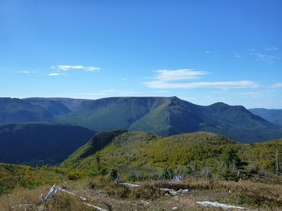 Gaspesie Region, Kanada: vue du Mont Ernest Laforce